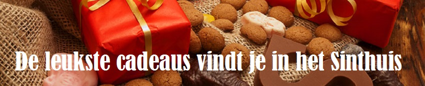 Sinthuis Sinterklaas cadeau magazijn