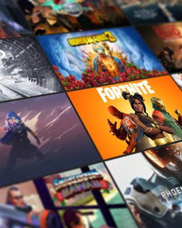 Games magazijn
